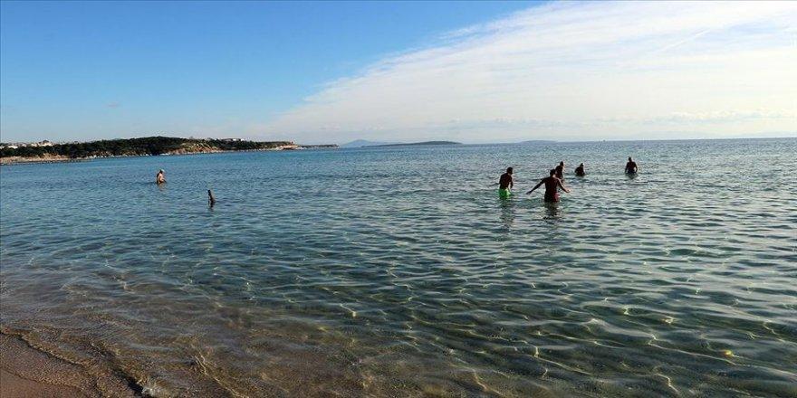 Aydın'da ocak ayında deniz keyfi