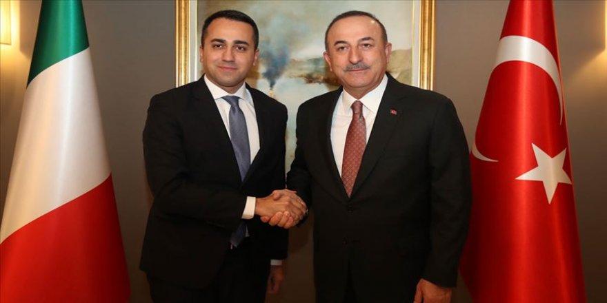 Çavuşoğlu İtalyan mevkidaşı Di Maio ile telefonda görüştü