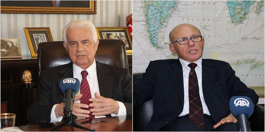 KKTC'nin eski cumhurbaşkanları vefatının 8'inci yılında Rauf Denktaş'ı anlattı