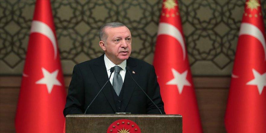 Cumhurbaşkanı Erdoğan Rauf Denktaş'ı andı