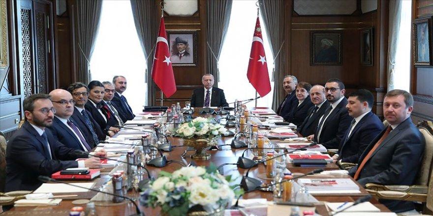 Hukuk Politikaları Kurulu Cumhurbaşkanı Erdoğan başkanlığında toplandı