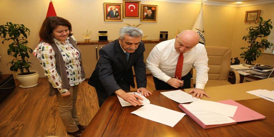 Belediye, Tapu Müdürlüğü ile protokol imzaladı