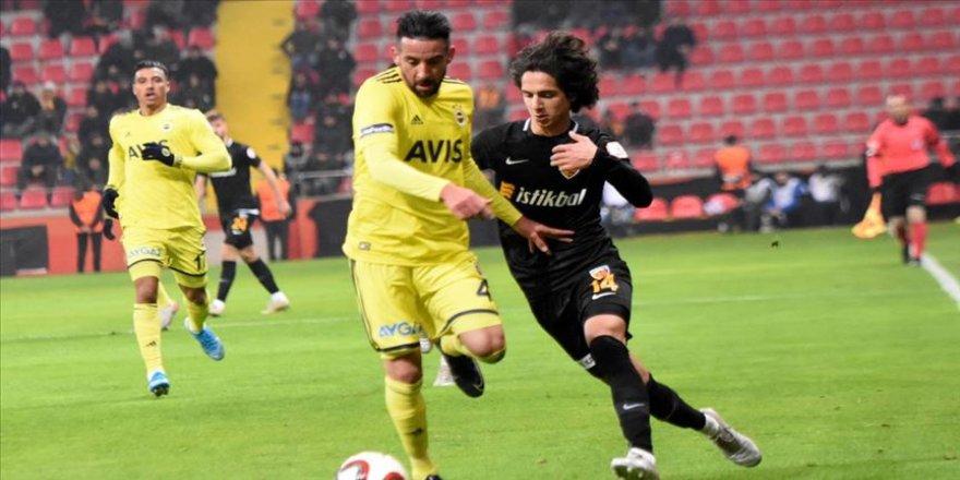 Kayserispor - Fenerbahçe maçında gol sesi çıkmadı