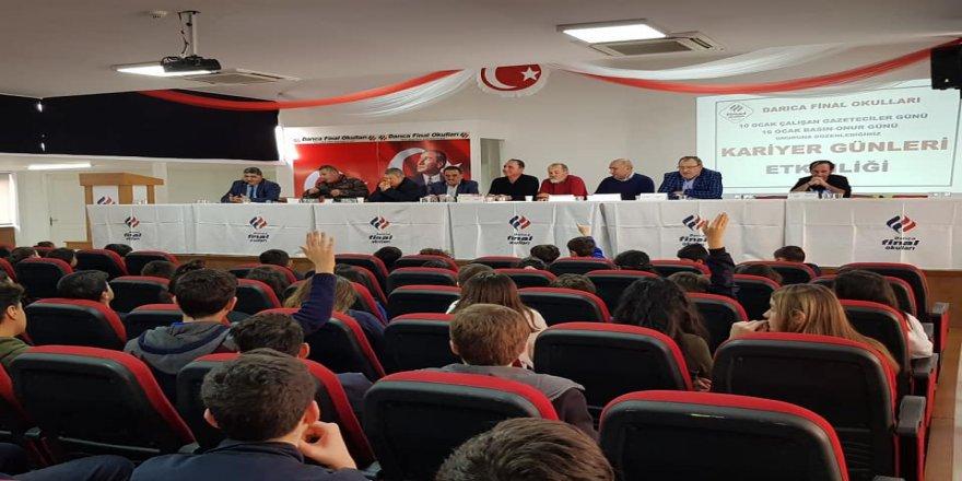 Darıca Final Okulları, bölge basın mensuplarını ağırladı
