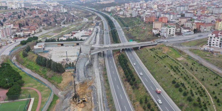 Şifa – Çayırova bağlantı  köprüsünde imalatlara devam