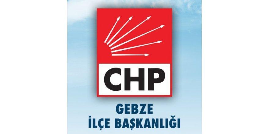 CHP Gebze ilçe başkanı belli oldu