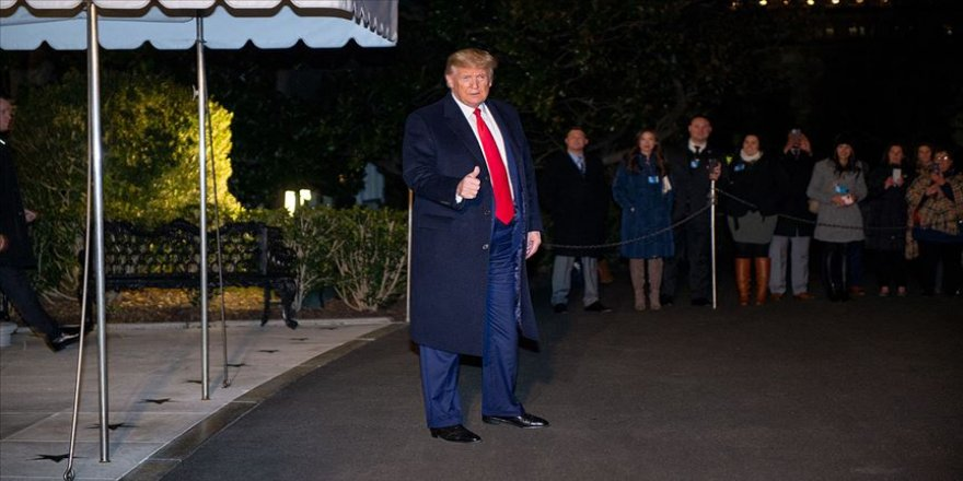 Trump Dünya Ekonomik Forumu için Davos'a gitti
