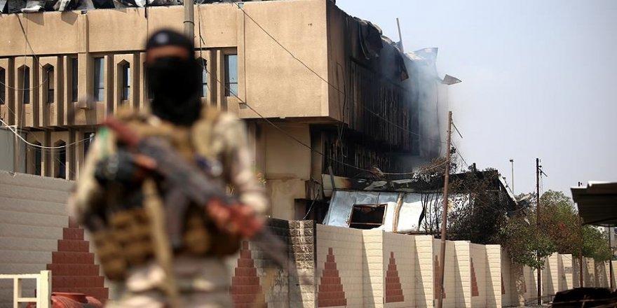 Bağdat'ta Yeşil Bölge'ye füzeli saldırı