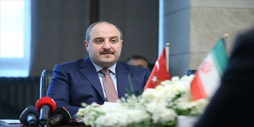 Sanayi ve Teknoloji Bakanı Varank: İran ile çok yönlü iş birliğimizi geliştirmemiz bölge refahına katkı sağlayacaktır