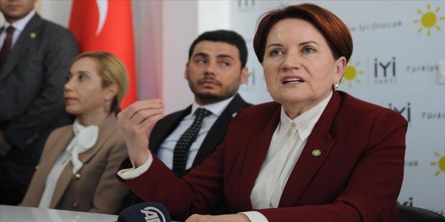 İYİ Parti Genel Başkanı Akşener: Seçime Tayyip Bey karar verecek