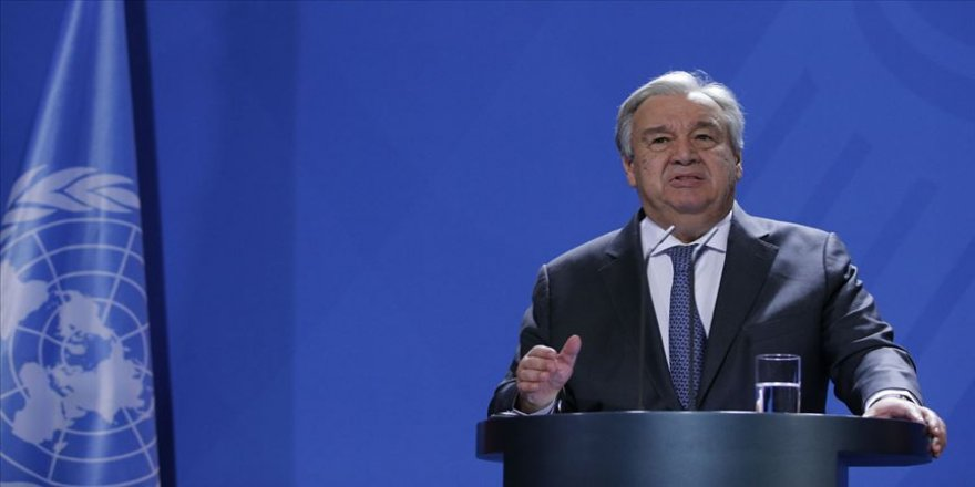 BM Genel Sekreteri Guterres: Libya'da ateşkes siyasi sürece dönüşmeli