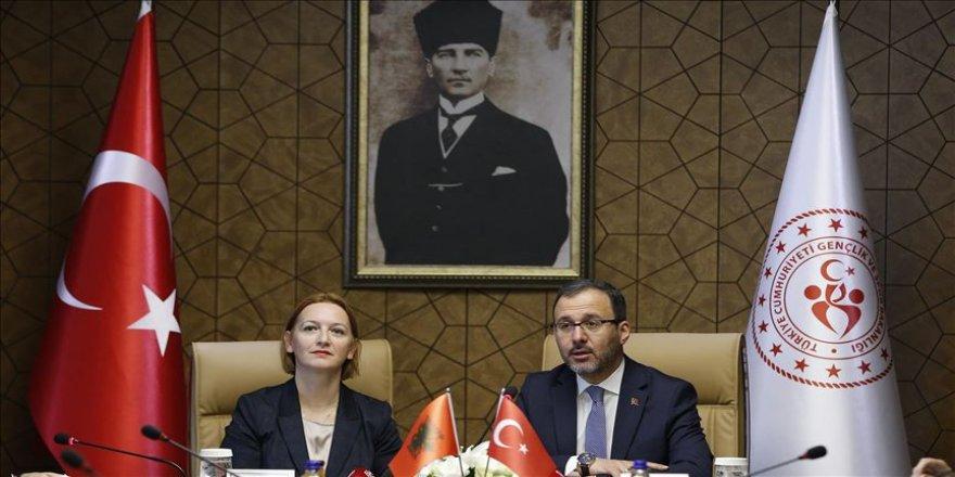 Türkiye-Arnavutluk arasında KEK 12. Dönem Protokolü imza töreni yapıldı
