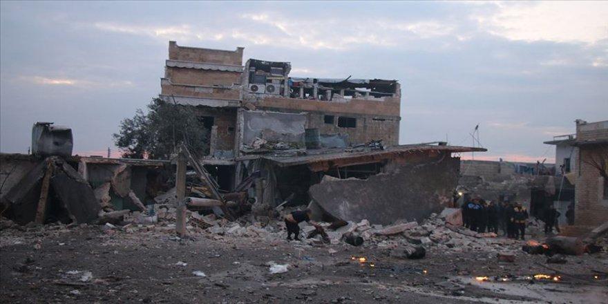 Esed rejimi Rusya'nın desteğiyle İdlib'de 3 yerleşimi daha ele geçirdi