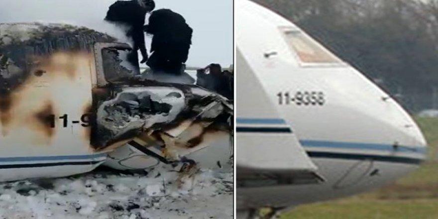 ABD uçağı düşürüldü, kurtulan olmadı