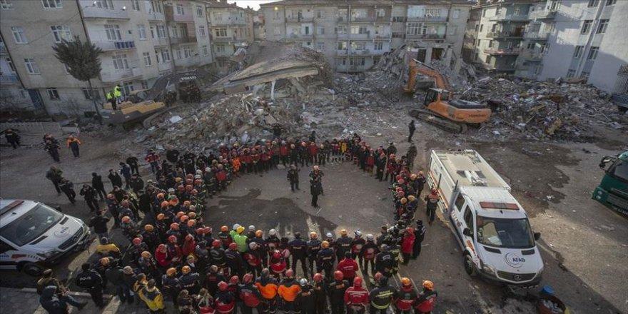 6,8'lik deprem sonrası arama kurtarma çalışmaları sona erdi