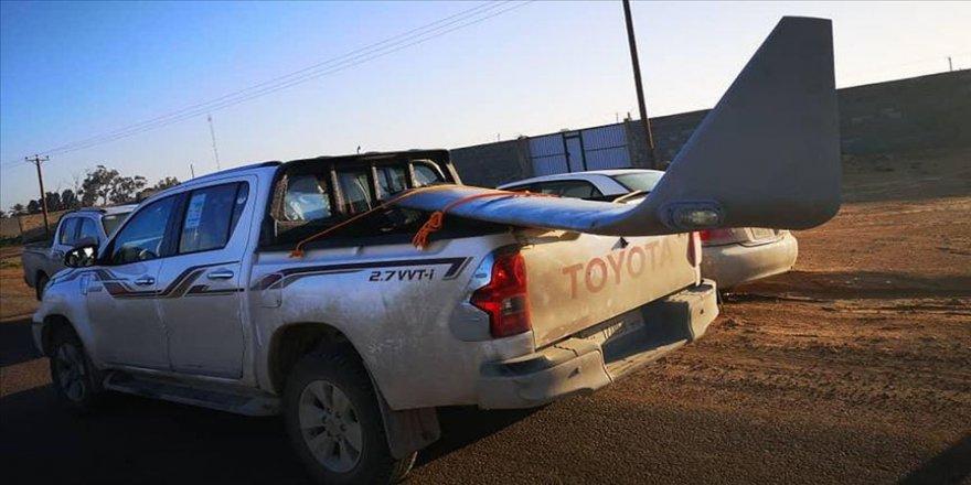 Libya'da UMH güçleri Hafter'e ait bir SİHA'yı düşürdü
