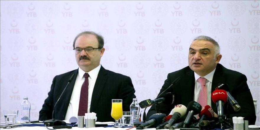 Bakan Ersoy: Virüs salgını Türkiye'nin turizmini olumsuz etkilemez