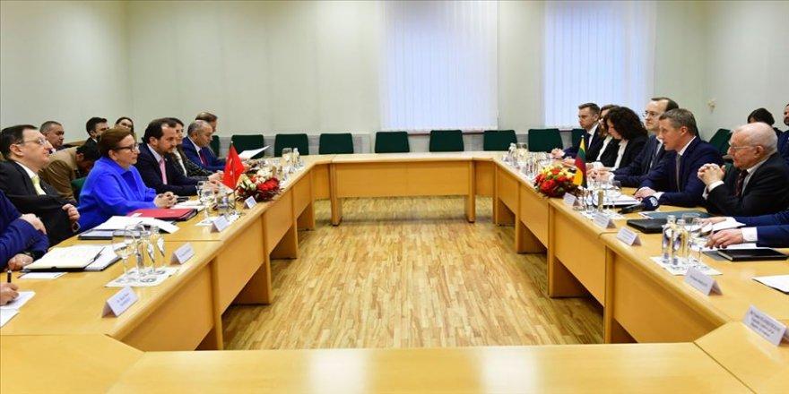 Litvanya ile ticaret hacmi hedefi 1 milyar dolar