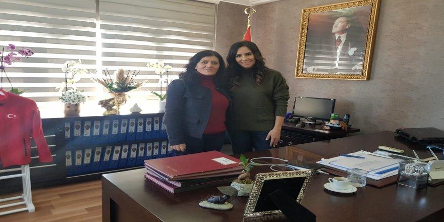 Çakır,Darıca İlçe Emniyet Müdürü Şen'i ziyaret etti