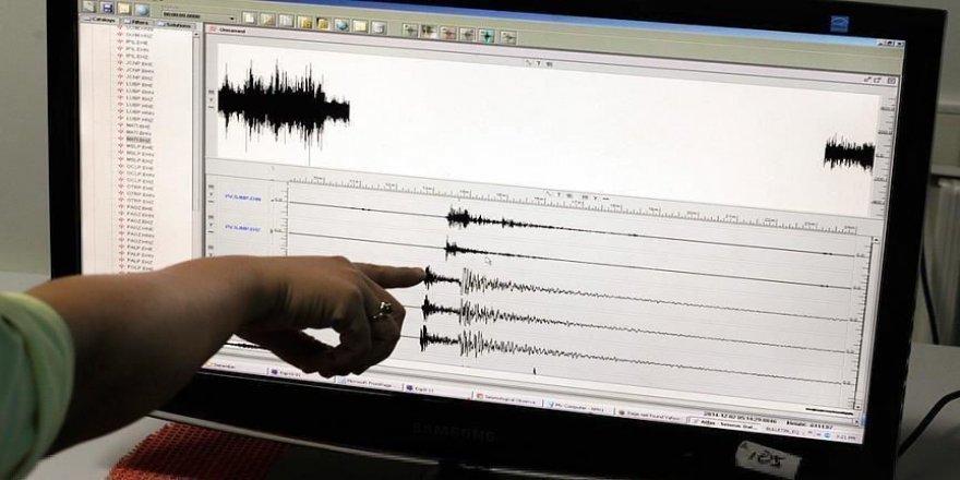 Elazığ'da 4,5 büyüklüğünde deprem meydana geldi