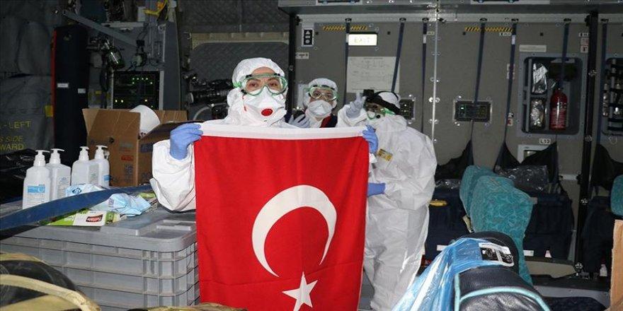Türk vatandaşlarını tahliye edecek uçak Çin'e ulaştı