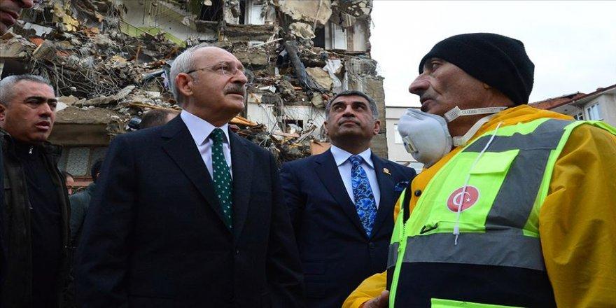 CHP Genel Başkanı Kılıçdaroğlu Elazığ merkezli depremi değerlendirdi