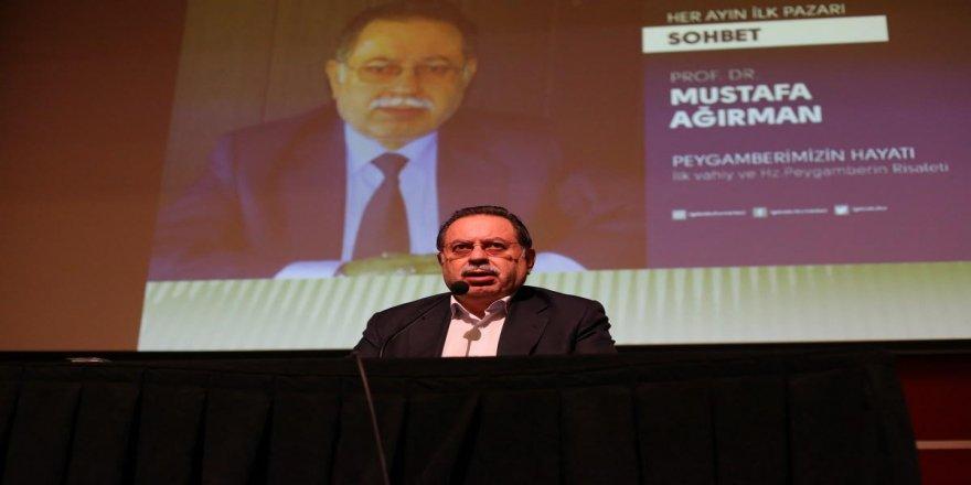 Prof. Dr. Mustafa Ağırman Gebzelilerle bir araya geldi