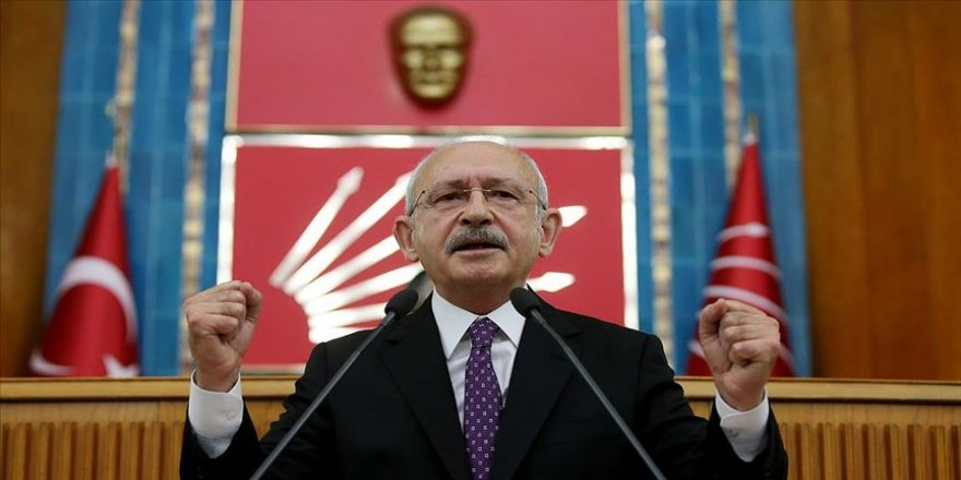 CHP Genel Başkanı Kılıçdaroğlu: Filistin davasına sahip çıkmak bir insanlık onurudur