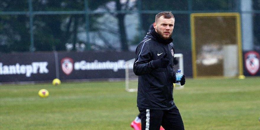 Gaziantep FK'lı futbolcu Maxim kendine güveniyor