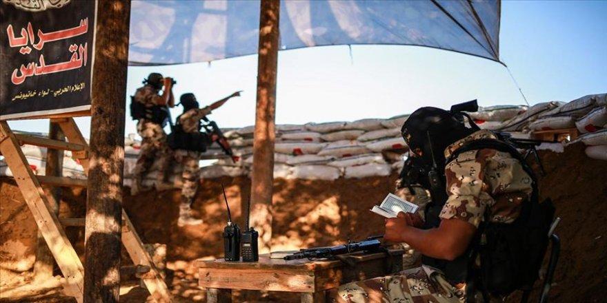 İslami Cihad'ın silahlı kanadı Kudüs Seriyyeleri İsrail'e saldırı çağrısı yaptı