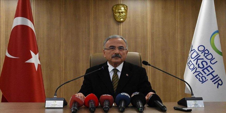 Ordu Büyükşehir Belediye Başkanı Güler'den, üst ölçekli yapıya ilişkin açıklama