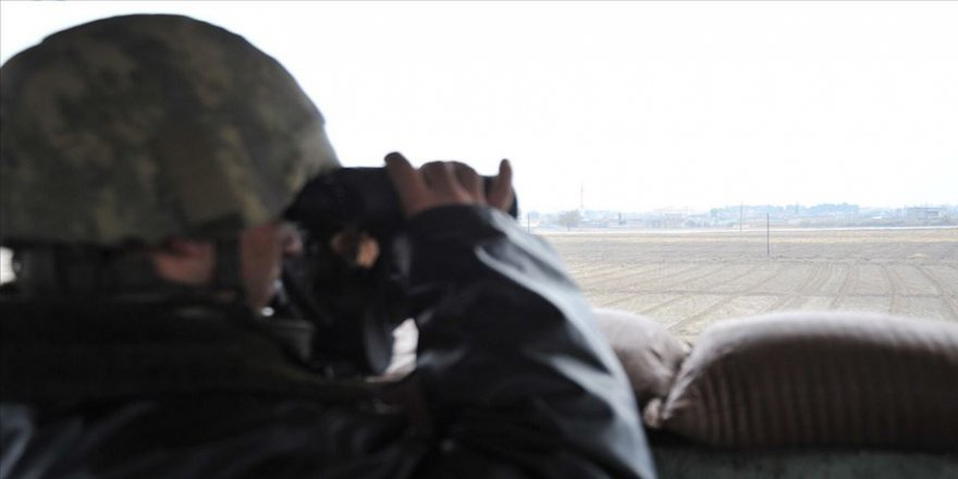 MSB: 5 PKK/YPG'li terörist hudut karakollarımıza teslim oldu