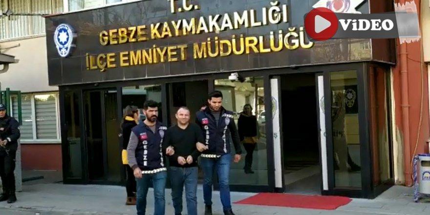 Suç Makinası Gebze'de Yakalandı
