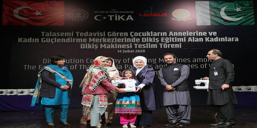 Emine Erdoğan: Pakistan ve Türkiye bir kalbin iki yarısıdır