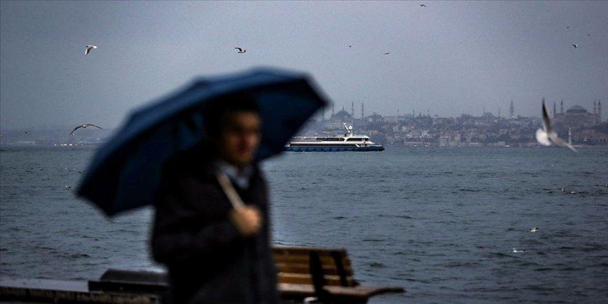 İstanbul'da hafta sonu yağmurlu hava bekleniyor