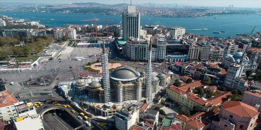 """""""Taksim Camisi'nin genel inşaatının yüzde 60'ı tamamlandı"""