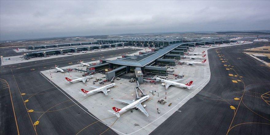 Ocak ayında 8 milyonu aşkın yolcu İstanbul'daki havalimanlarından uçtu