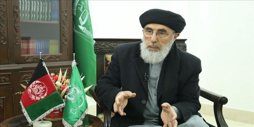 Hizb-i İslami lideri Hikmetyar'dan Afganistan'daki barış sürecine sabotaj uyarısı