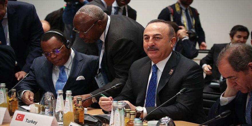 Dışişleri Bakanı Çavuşoğlu: Hafter'in ihlalleri ve saldırganlığının durdurulması gerek