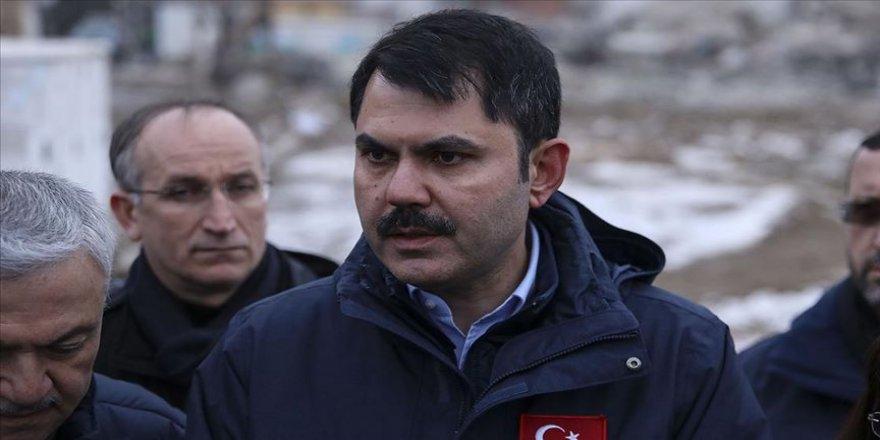 Çevre ve Şehircilik Bakanı Kurum: Elazığ'da bir yıl içinde projelerimizi tamamlayacağız