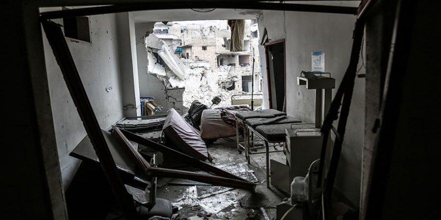 Rus savaş uçakları Halep kırsalında 2 hastaneyi vurdu