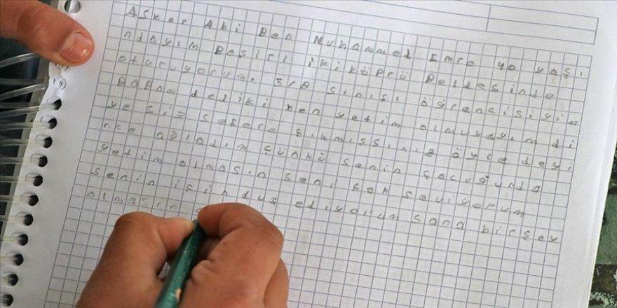 Batmanlı Muhammed'den Mehmetçiği duygulandıran mektup