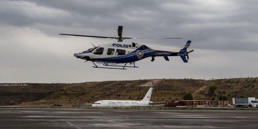 Polis havacılık birimine helikopter firmalarından 'operasyonel hazırlık ve bakım performansı' ödülü