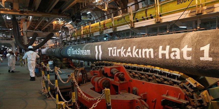 TürkAkım'dan Avrupa'ya ocakta 506,3 milyon metreküp gaz taşındı