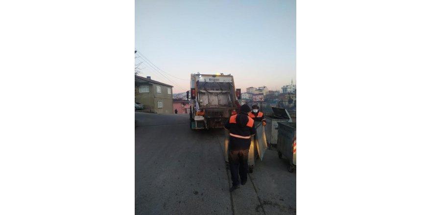 Gebze'nin sokakları her gün temizleniyor