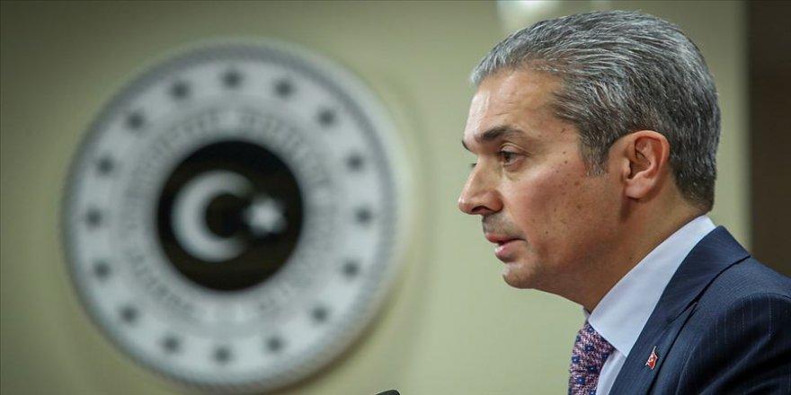 Dışişleri Bakanlığı Sözcüsü Aksoy: Vize muafiyetiyle ilişkilerin daha da geliştirilmesi amaçlandı