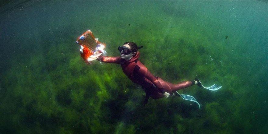 'Sıfır Atık Mavi' projesi ile 180 bin metreküp deniz çöpü toplandı