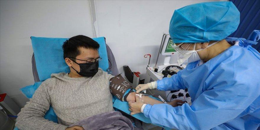 Çin'de tedavisi tamamlanan hastada yeniden Kovid-19 görüldü