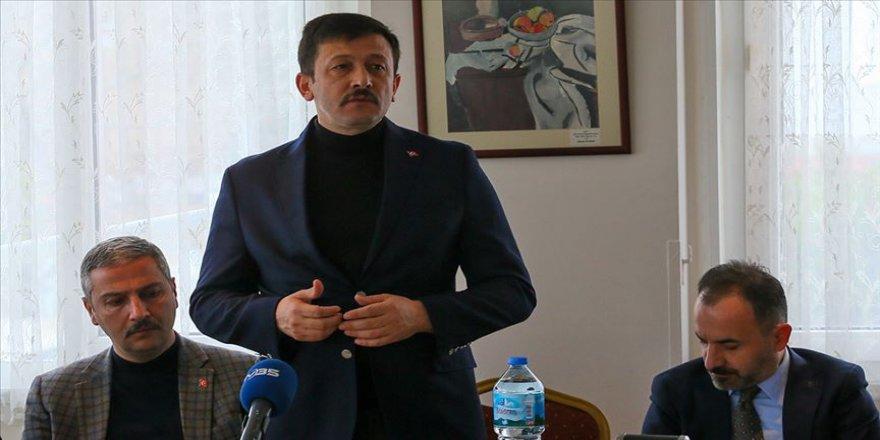 AK Parti'li Hamza Dağ'dan Suriye açıklaması