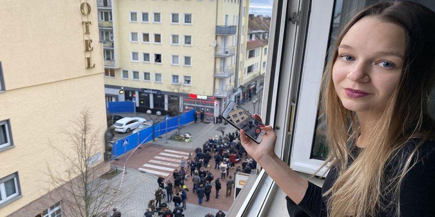 Almanya'da ırkçı terör saldırısının görgü tanıkları hala olayın etkisinde